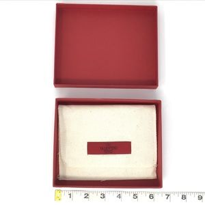 Valentino Red Gift Box and Dust Bag